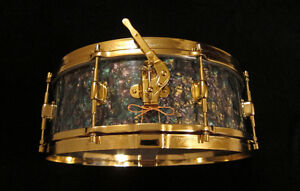 Tropical Pearl Wrap for Snare Drum Kitchener / Waterloo Kitchener Area image 1