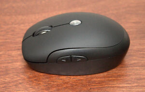 Small wireless mouse with receiver