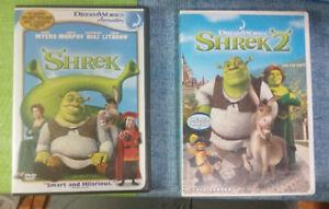 Shrek 1 and 2 DVD Movie