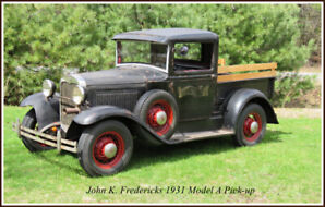 For Sale : 1931 Ford Model A Pick-up