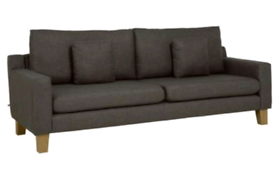 Dwell Ankara 2 grey 4 seater sofa immaculate Paid £800 Stainguarded