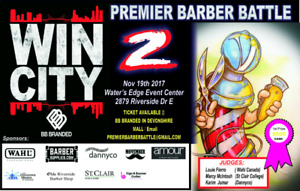 Win city Premiere barber battle