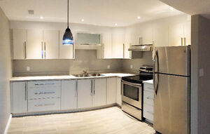 Beautifully renovated 1 bedroom basement apartment - SE Barrie
