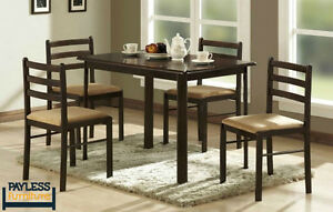 NEW ★ Dinette sets ★ 5 / 3 Pcs ★ Can Deliver Cambridge Kitchener Area image 8