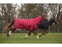 Outdoor Medium Weight Full Neck Horse Rug