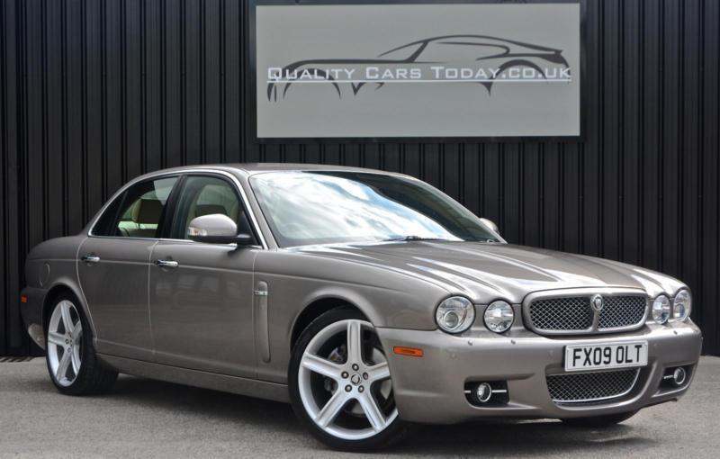2009 Jaguar XJ Series 2.7 TDVI Diesel Sovereign X358 *Vapour Grey + High Spec* | in Sheffield ...