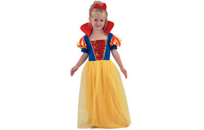 Snow White Costume Princess for Girls 2-3 Years Old Size 104 T2 (2 Year Old Princess Costume)