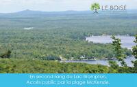 Terrain - à vendre en ESTRIE, VOISIN LAC BROMPTON- St-Denis