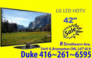 "LG 42"" 1080p 120Hz Direct LED HDTV SALE SALE"