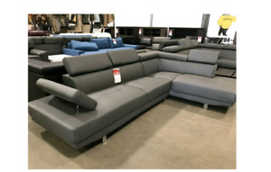 Grey Sofa Sectional- BRAND NEW IN BOX