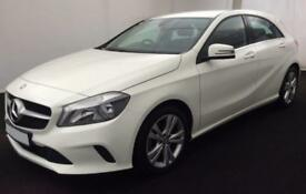 2016 WHITE MERCEDES A200 2.1 CDI SPORT DIESEL MANUAL CAR FINANCE FROM 54 P/WK