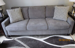 PALLISER SOFA/CHAISE - ASKING $1300.00