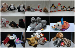 BNWT - TY Beanie Babies all over 16 years old.