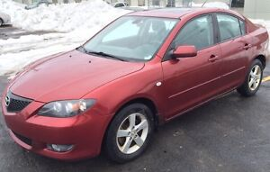 Moving sale-2006 Mazda 3 touring edition - For quick sale