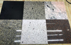 "LIQUIDATION-GRANITE TILES-12""X12""X1/4""-MANY STYLES"