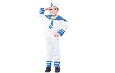 Matrosenkostüm Marine Matrose Kostüm für Jungen 2-3 Jahre Gr. 104 - Kostüm Für 2 Jungs