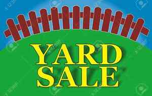FAMILY FALL YARDSALE