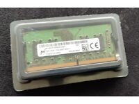 8GB DDR4 RAM for laptop , 8 GB (DDR4, 2400 MT/s, PC4, SODIMM, 260-Pin) Memory