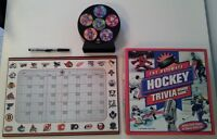 NHL Hockey/Sports Collector and Trivia Items