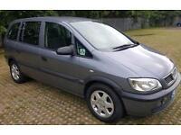 2004MY Life Vauxhall/Opel Zafira 1.6i 16v Mot 01/18 service stamps 2 keys