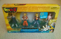 Dragonball Z figure collection: Vegeta, Gohan, Vegito, Buu