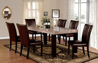 ★★★FAUX MARBLE TOP DINING ROOM ON SALE★★★
