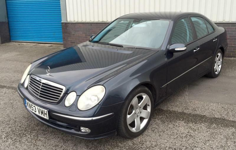 2003 53 mercedes e320 cdi avantgarde diesel saloon auto. Black Bedroom Furniture Sets. Home Design Ideas