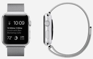 Apple Watch with Milanese Loop