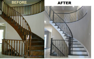staircase refinishing