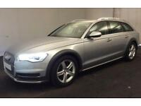 2016 SILVER AUDI A6 ALLROAD 3.0 TDI 272 QUATTRO AUTO CAR FINANCE FR £100 PW