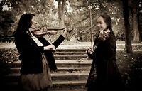Duo de violonistes pour mariages