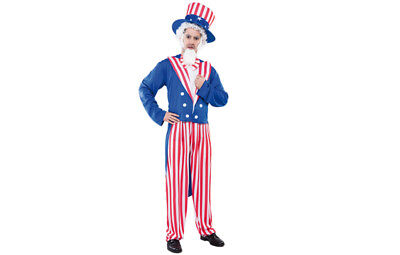 Amerikakostüm Uncle Sam USA Anzug Kostüm Herren Gr. L
