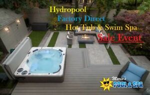 Factory Direct Hot Tub & Swim Spa Sale Event!