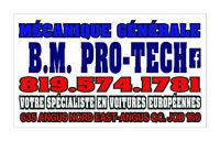 MÉCANIQUE GÉNÉRALE B.M.PRO-TECH