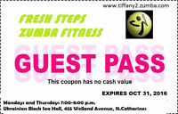 """HOW TO"" ZUMBA class - Oct.24 in St.Catharines"