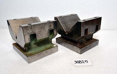 Taft Peirce Solid Body Cast Iron V-blocks Inv.30825