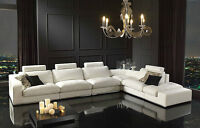 White Destiny Sectional **Great Sale Price**