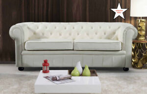 Indoor Tufted Leather Furniture – Liquidation Sale – Velago
