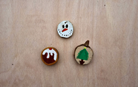 Christmas tree Decorations 6pack