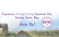 Experience Young Living Essential Oils | Family Farm Day