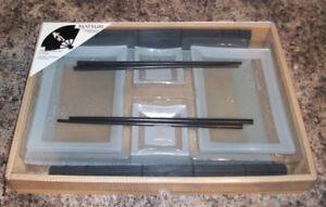 Matsuri Glass Sushi Set