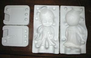 Ceramic greenware mold - Large Smiley / Happy Boy Graduate Belleville Belleville Area image 3