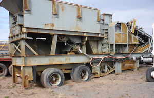 Portable Jaw Crusher for sale - Hewitt Robins Grizzly King