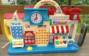 VTG.FISHER PRICE SMART STREET LEARNING CENTER EDUCATIONAL #7660