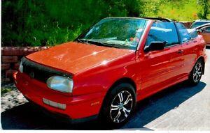 1998 Volkswagen Golf Mail Cabriolet
