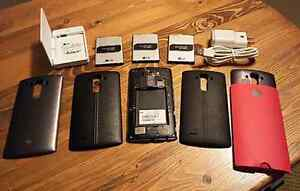 UNLOCKED LG G4 (Used 1 year) WITH 3 batteries plus more Peterborough Peterborough Area image 1
