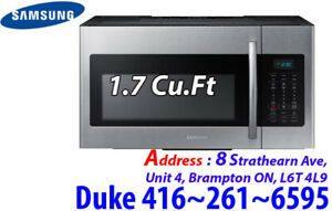 Stainless Over-The-Range Samsung 1.7 Cu.Ft ME17H703SHS