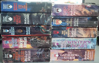 Wheel of Time series (mostly complete)