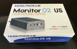 Musiland Monitor 02 US USB DAC/Sound Card with headphone amp