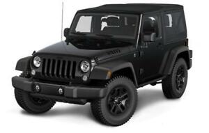 2018 Jeep Wrangler JK Willys Wheeler